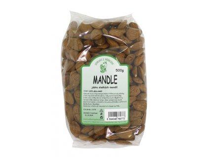 Mandle natural 500g ZP