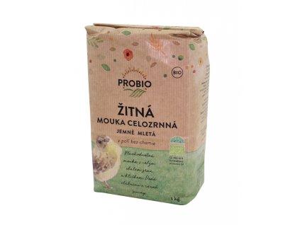 Mouka žitná cel. jemně mletá 1kg PRO-BIO