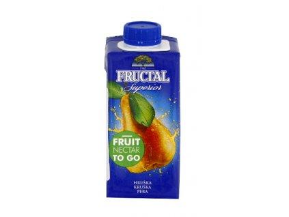 Fructal superior hruška 0,2l