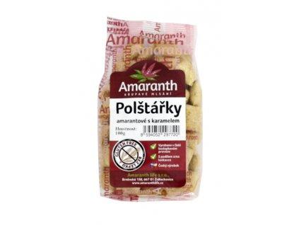 Polštářky amarantové karamel 100g Amaranth