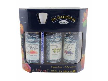 Džem pack 3x284g Dalfour