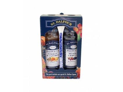 Džem pack 2x284g Dalfour