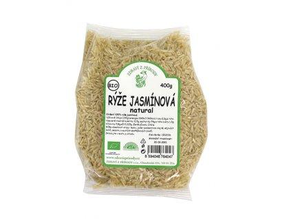 Rýže jasmínová natural 400g  BIO ZP