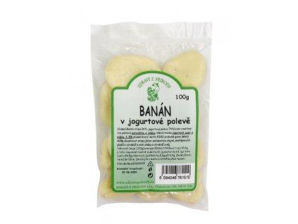 Banán v jogurtu 100g ZP