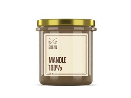 Mandle 100% pražené mělněné 330g (Mandlový krém)