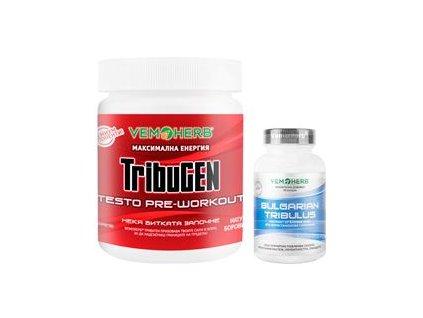 TribuGEN 300g borůvka + Tribulus Terrestris 90 kapslí