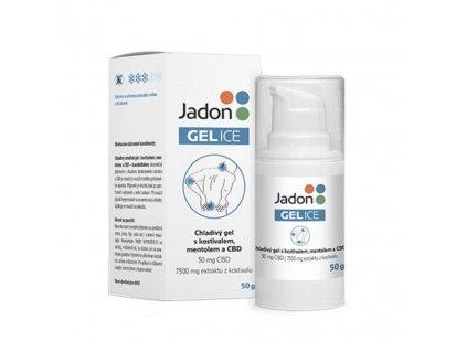Jadon GEL ICE chladivý gel s kostivalem, mentolem a CBD 50g