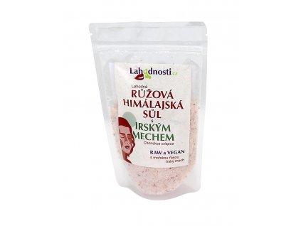 Růžová himalájská sůl s Irským mechem 200g