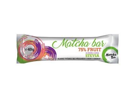 Matcha bar 40g Natusweet