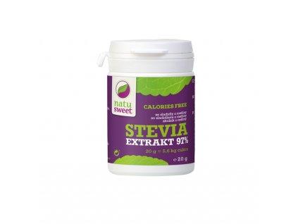 Stevia extrakt 97% 20g Natusweet
