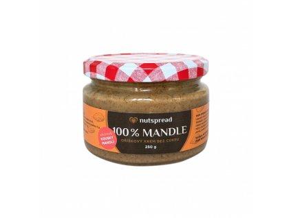 Mandlový krém s kousky 250g Nutspread