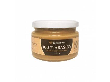 Arašídový krém jemný 250g Nutspread