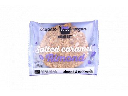 Kookie cat mandle slaný karamel BZL BIO 50g