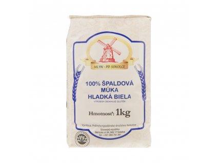 Špaldová mouka bílá hladká 1kg PD Sokolce