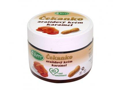 Čekankovo arašídový krém slaný karamel 250g Kaumy