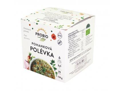 Pohanková polévka BIO 136g PRO-BIO