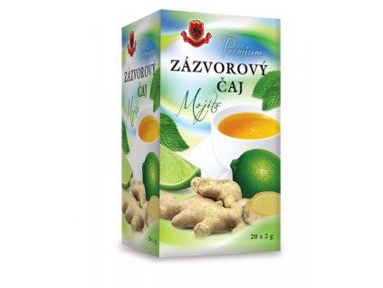 Zázvorový čaj Mojito/Ginger 20x2g