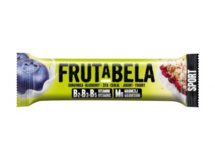 Frutabela sport borůvka v jogurtu 44g Fructal