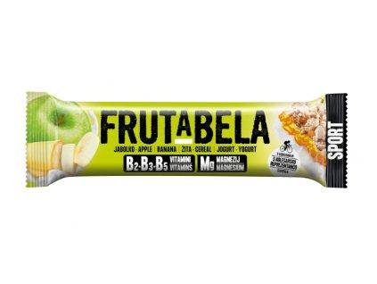 Frutabela sport jablko, banán v jogurtu 44g Fructal