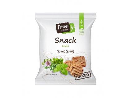 Slaný snack - bylinky 125g Perník