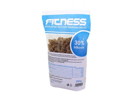 Fitness bezvaječné těstoviny s mořskou řasou 250g Ekoprodukt