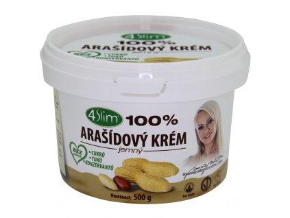 Arašídový krém jemný 500g KAUMY