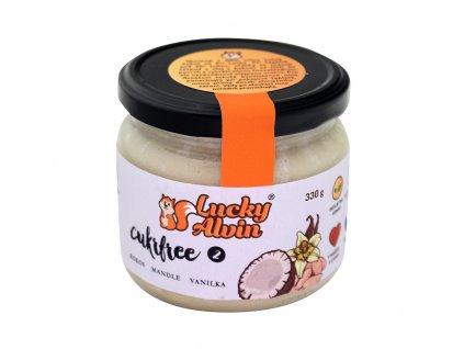 Kokos, mandle, vanilka 2 Cukrfree 330g Lucky Alvin