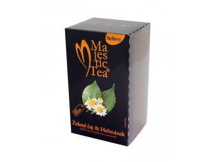 Majestic Tea - Zelený čaj/Heřmánek 20x1,5g