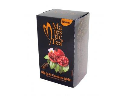Majestic Tea - Bílý čaj/Granát. jablko 20x1,75g
