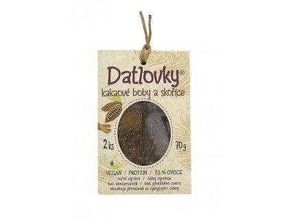 Datlovky kakaové boby se skořicí 70g