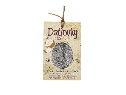 Datlovky s kokosem 70g