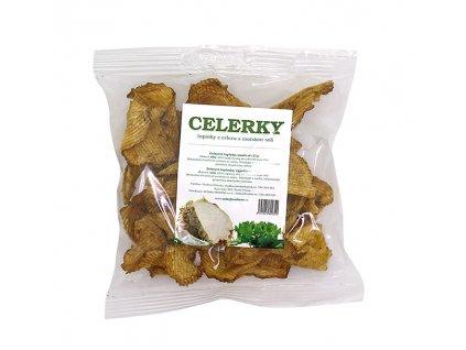 Celerky s mořskou solí 40g