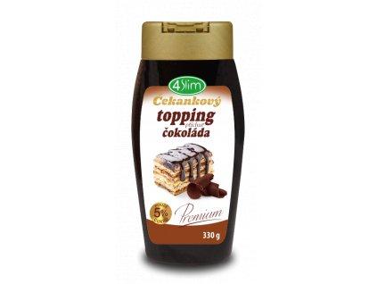 Čekankový topping čokoláda 330g Kaumy