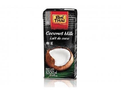 Kokosové mléko Real Thai 1000ml 85% extrakt