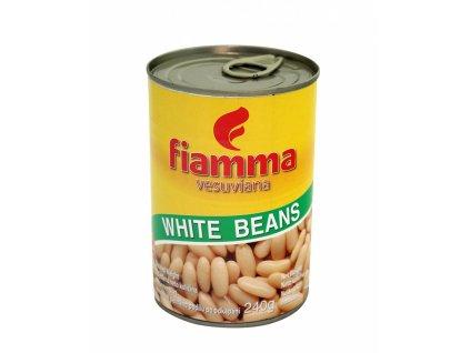 Fazole bílá malá 410g  FIAMMA