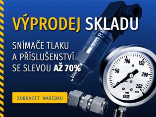 Výprodej skladu – sortiment pro měření tlaku se slevou až 70%!