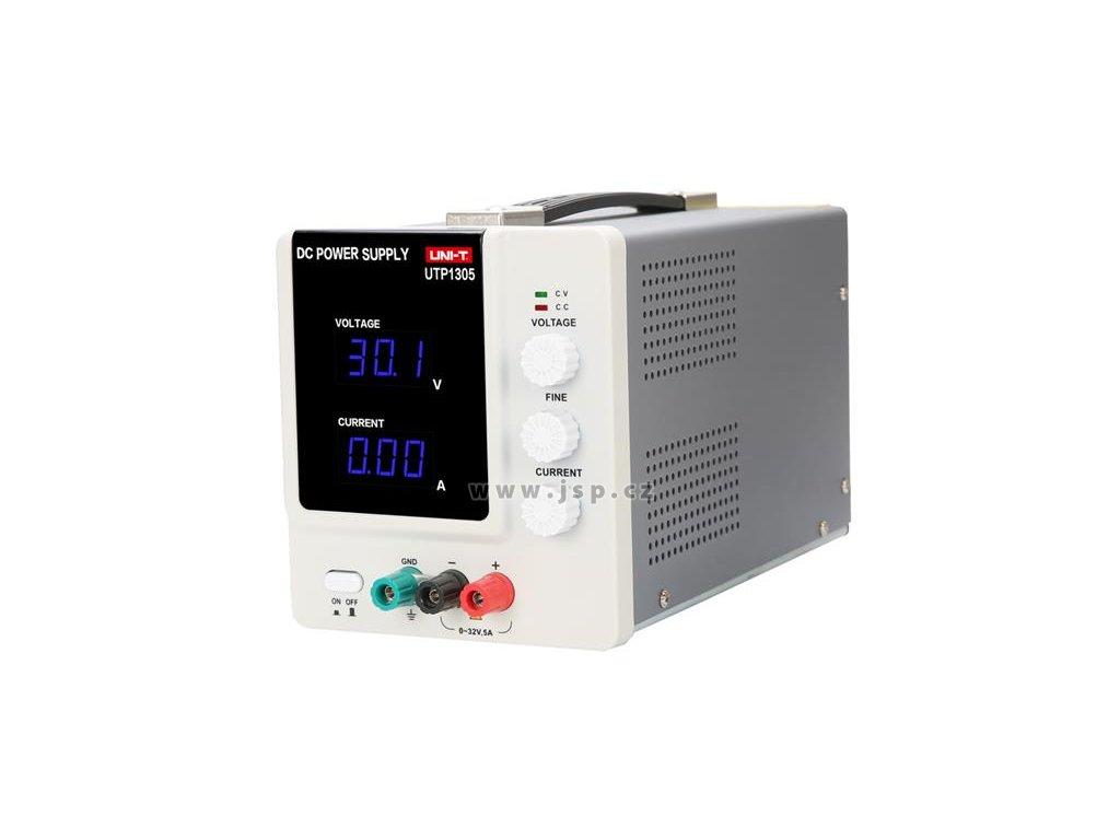 Zdroj laboratorní UNI-T UTP1305  0-32V/ 0-5A
