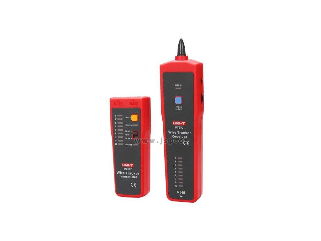 Tester kabelu UTP UNI-T UT682  (RJ45)