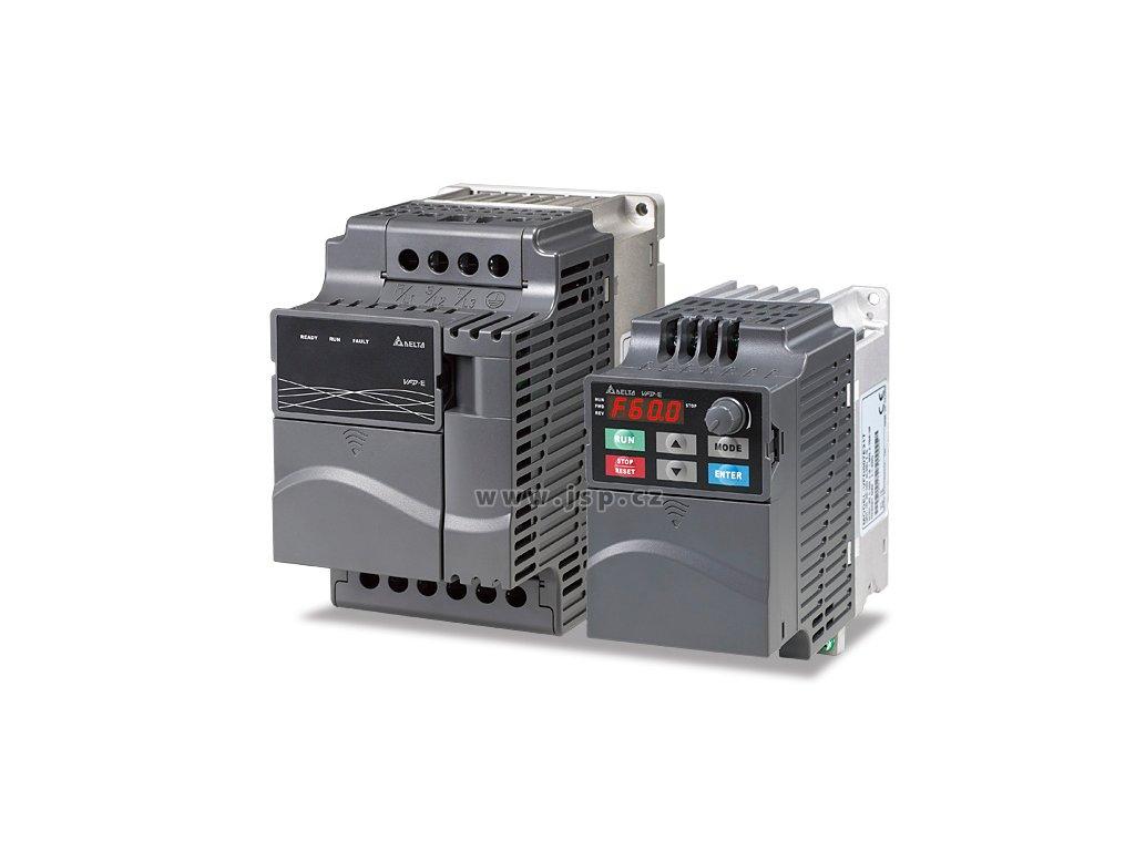 VFD015E43T Multifunkční frekvenční měnič s vektorovým řízením a PLC