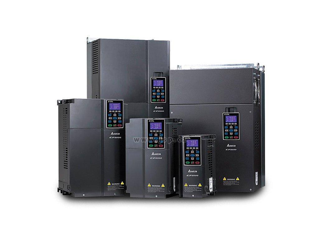 VFD2200CP43A-21 Frekvenční měnič pro ventilátory, čerpadla, HVAC