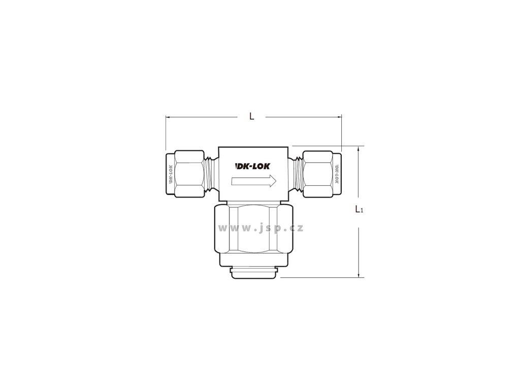 Filtr DK-LOK řady V76