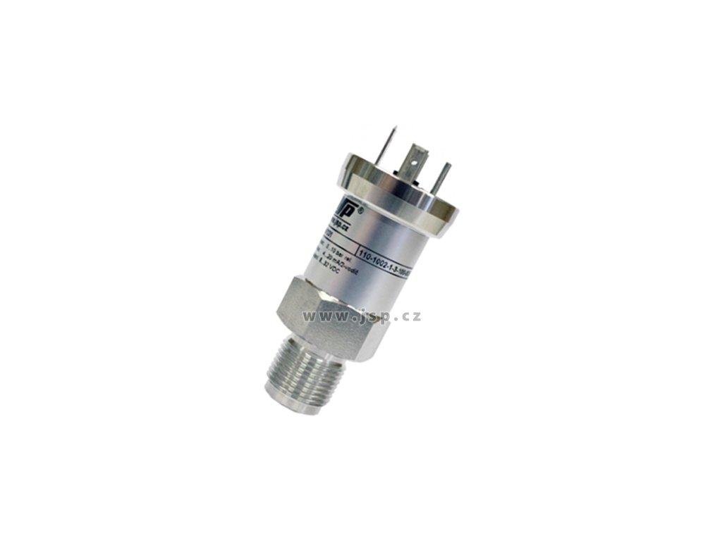 Převodník relativního tlaku DMP 331 / 0 až 1,6 MPa / M20x1,5 / 0 až 20 mA