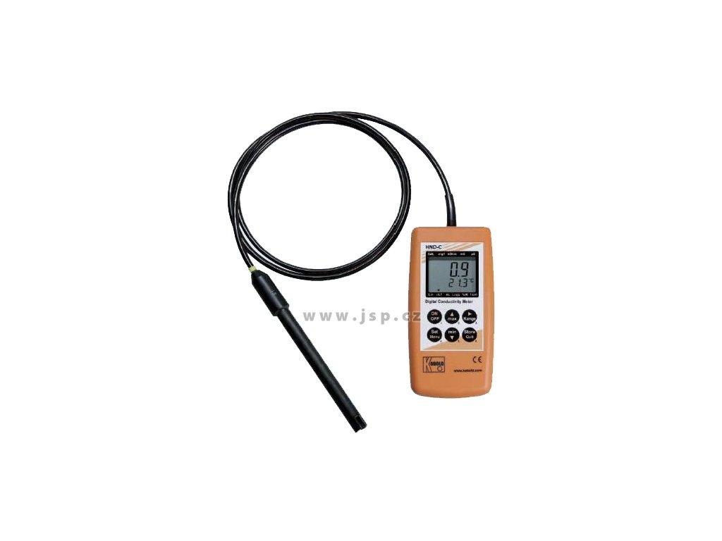 KOBOLD HND-C110 Digitální ruční přístroj pro měření vodivosti