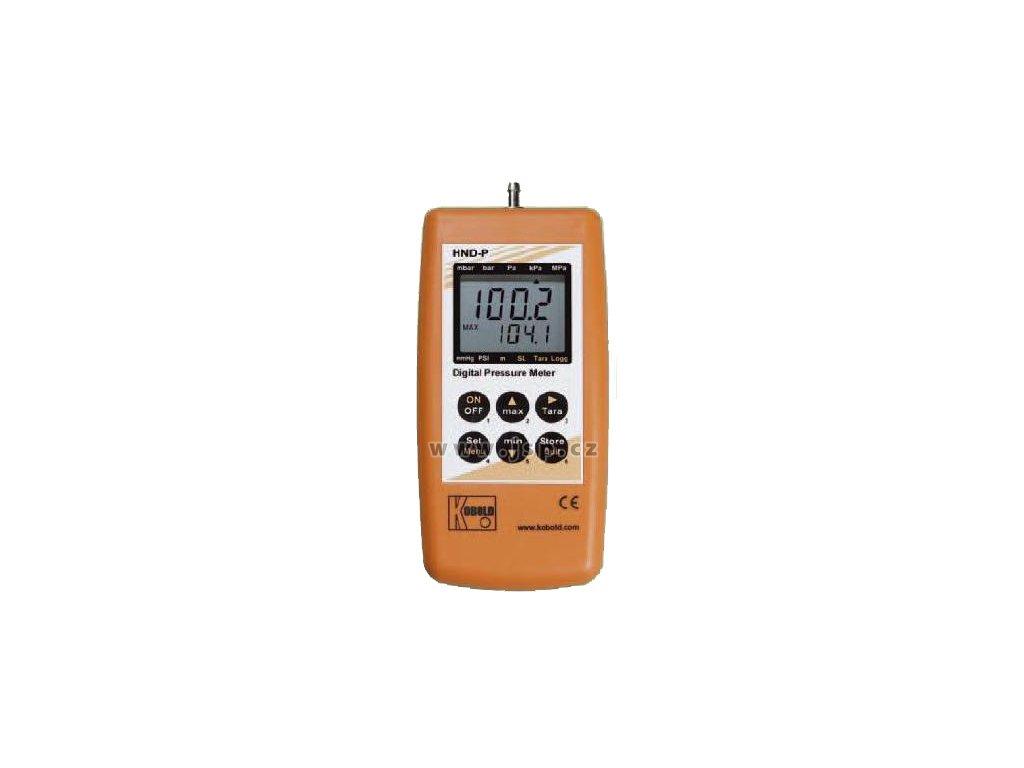 KOBOLD HND-P129 Ruční tlakoměr s 1 vestavěným senzorem