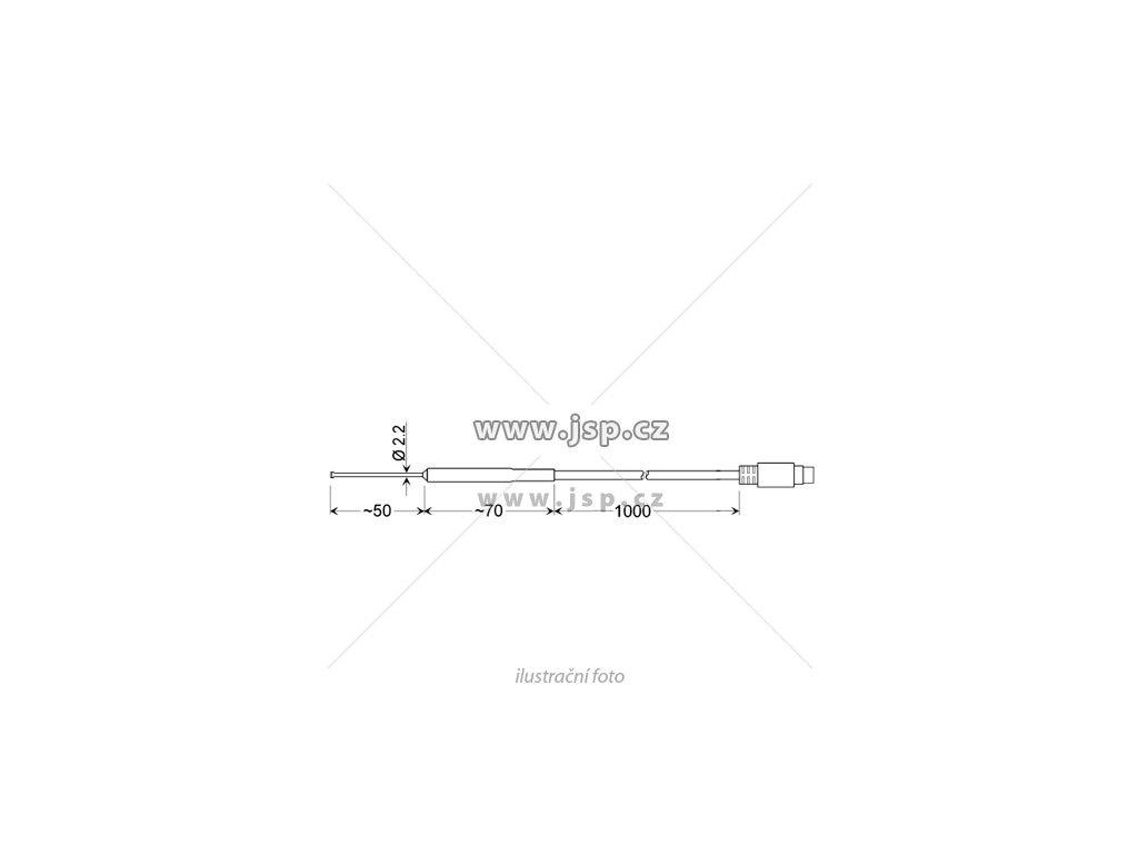 GOF 401 Mini - Rychlý povrchový snímač Pt100 pro pevné povrchy