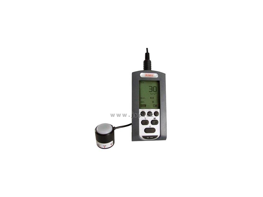 KIMO SL 200 Přístroj pro měření intenzity slunečního záření a dopadající energie