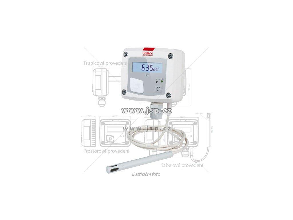 Regulátor vlhkosti / hygrostat KIMO HST-A trubicové provedení