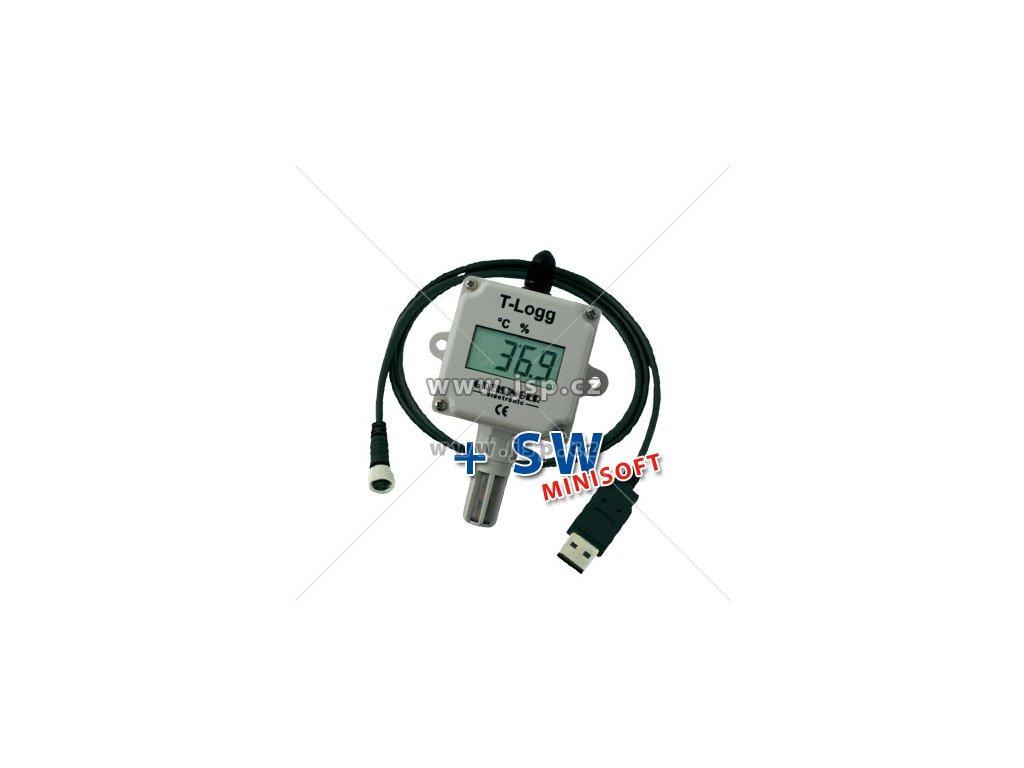 Greisinger T-Logg 160 SET - Datalogger pro měření teploty a vlhkosti