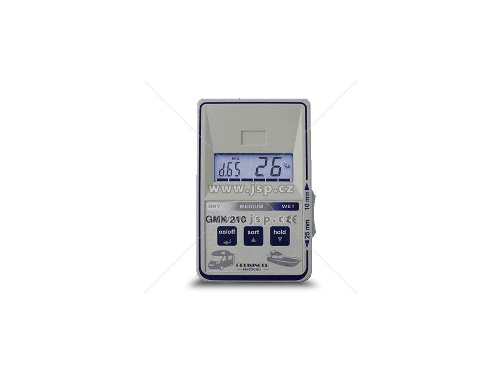 Greisinger GMK 210 - kapacitní měřič materiálové vlhkosti