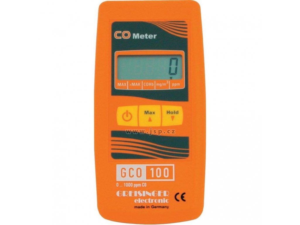 Greisinger GCO 100 Přístroj pro měření koncentrace oxidu uhelnatého